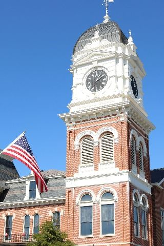 Image of Newton County Historic Courthouse