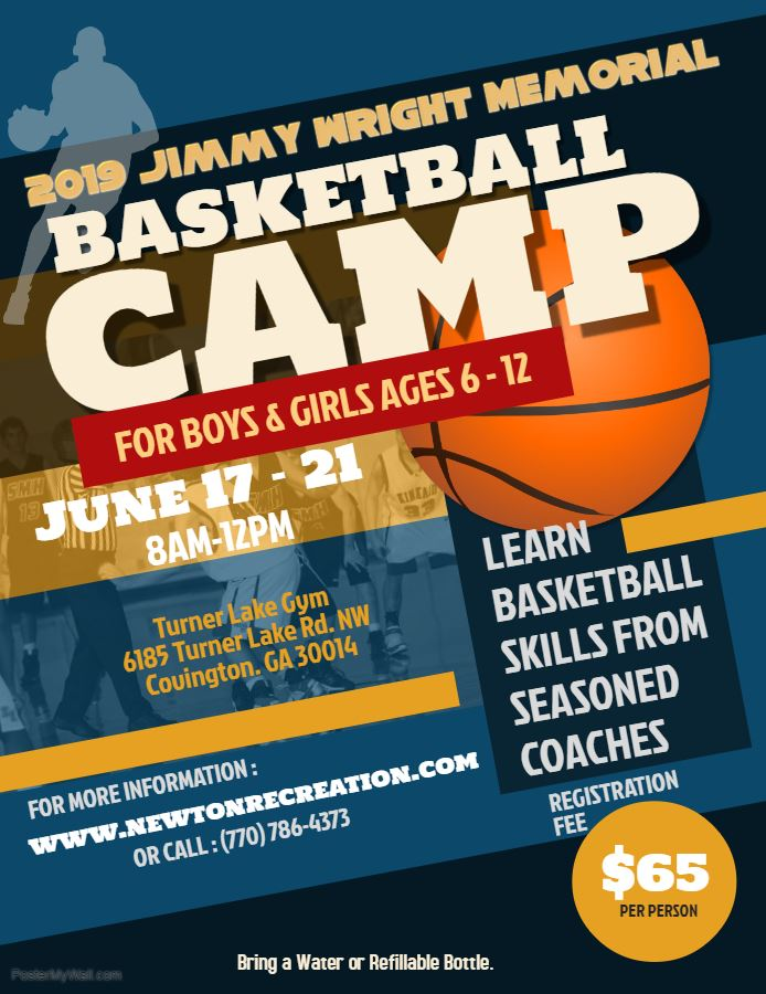 Image of 2019 Jimmy Wright Memorial BBall Camp