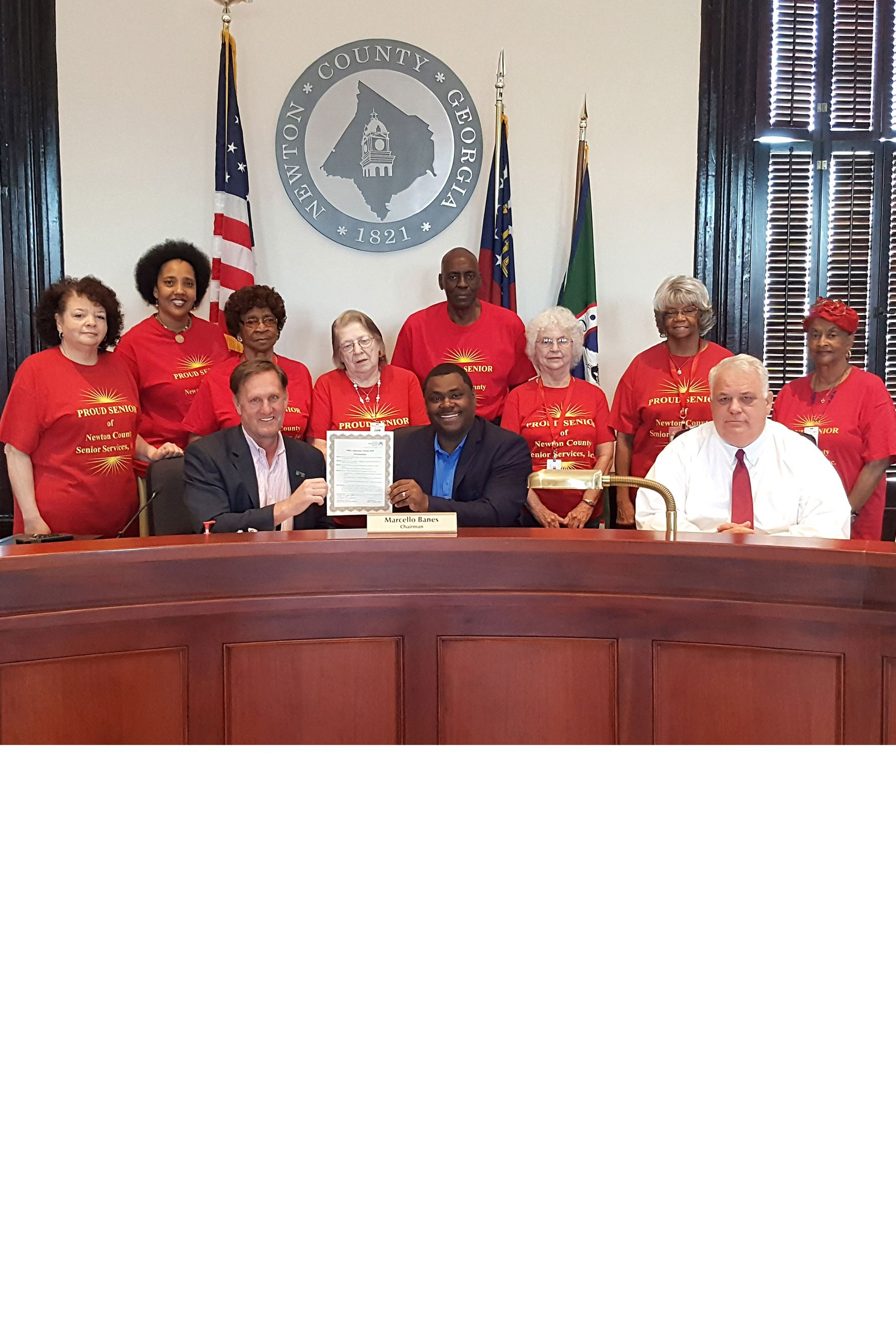 Image of 2019 Older Americans Month Proclamation highlight