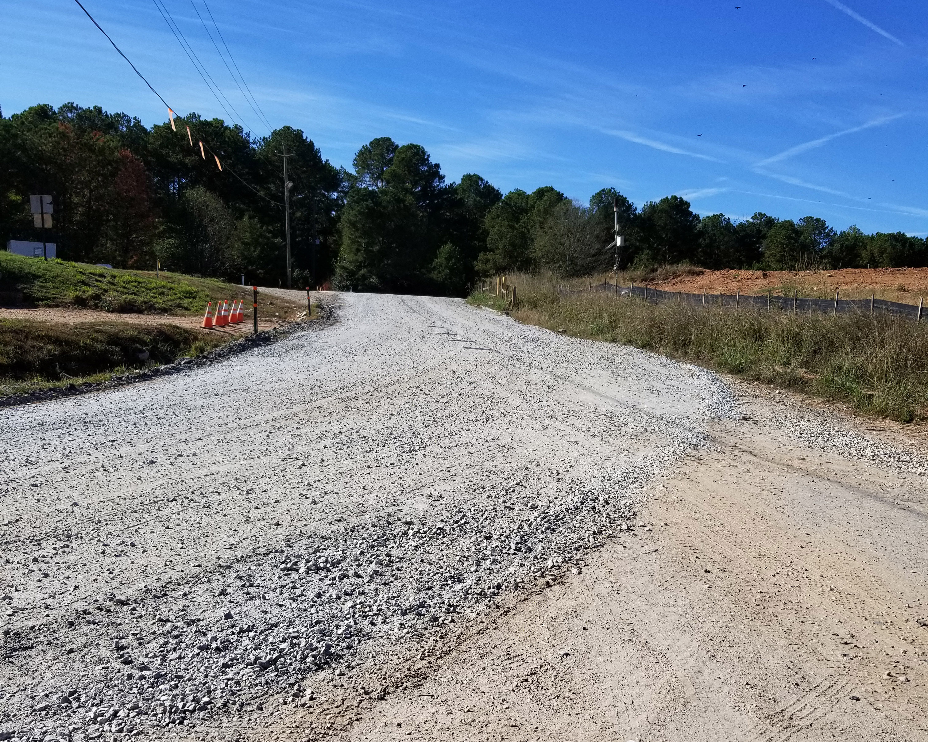 Image of Newton County Landfill Road Gravel