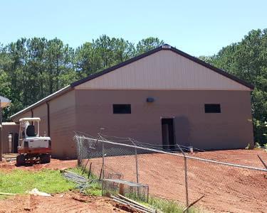Image of Animal Shelter June 11 Construction