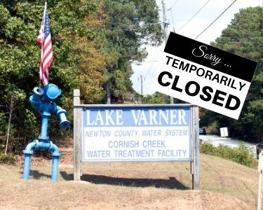 Image of LAKE VARNER TEMP CLOSED