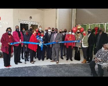 Image of Senior Services Ribbon Cutting