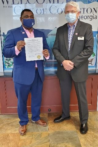 Image of Mayor and Chairman Proclamation