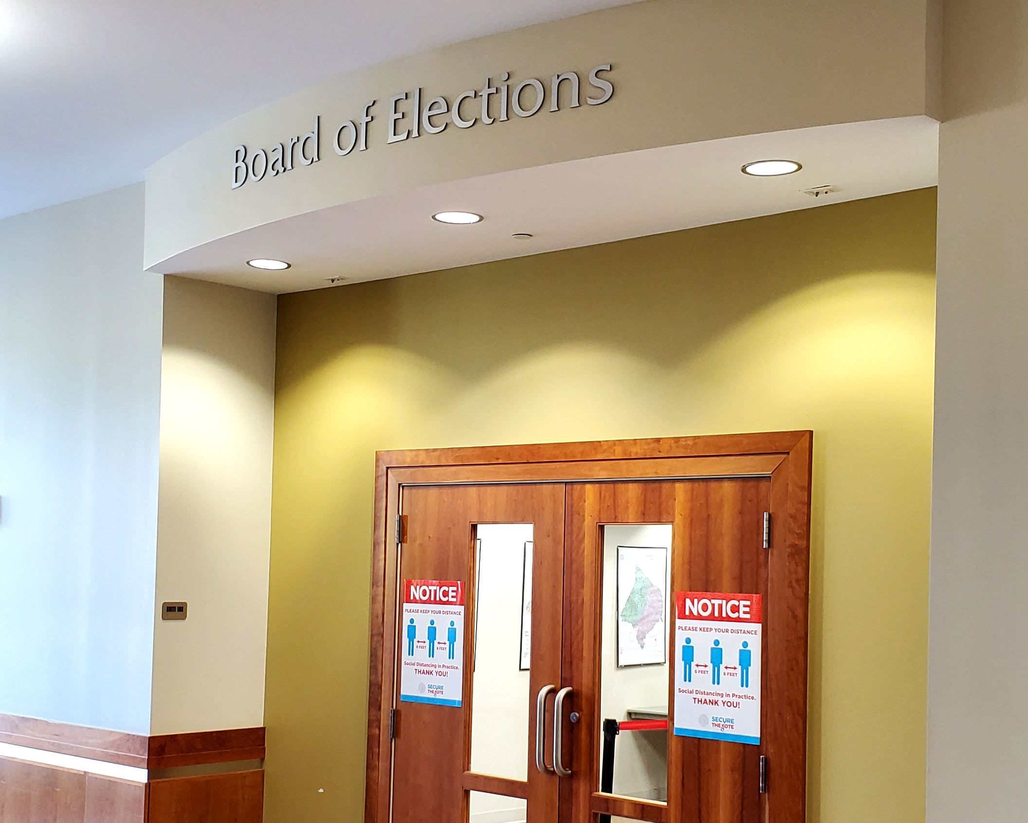 Image of Elections Door
